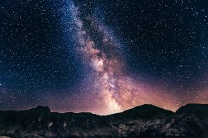 Intangible Asset Value Abstract Starry Sky