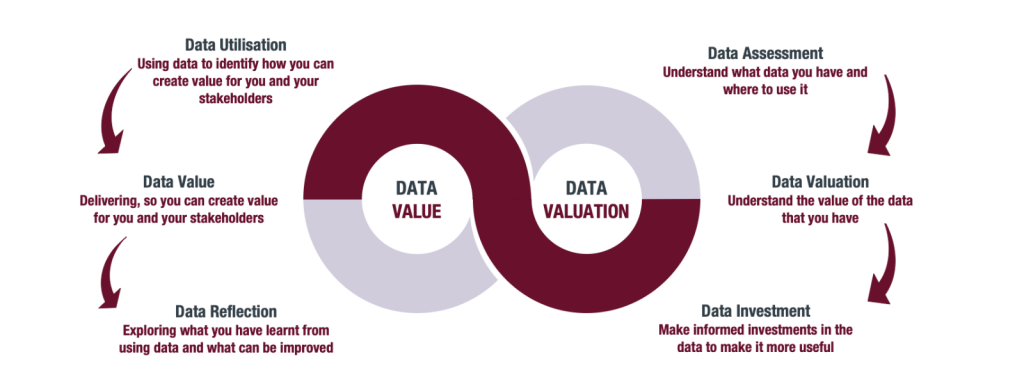 Data Valuation Graphic