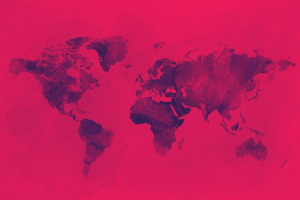 world map data governance red alert